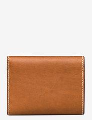 Polo Ralph Lauren - Tartan Wool Compact Wallet - wallets - cuoio - 1