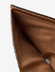 Polo Ralph Lauren - Tartan Wool Compact Wallet - wallets - cuoio - 4