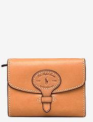 Polo Ralph Lauren - Tartan Wool Compact Wallet - wallets - natural - 0