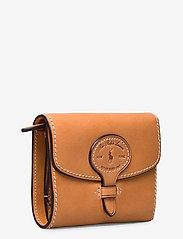 Polo Ralph Lauren - Tartan Wool Compact Wallet - wallets - natural - 2