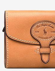 Polo Ralph Lauren - Tartan Wool Compact Wallet - wallets - natural - 3
