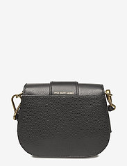 Polo Ralph Lauren - Pebbled Leather Lennox Bag - olkalaukut - black - 2