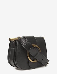Polo Ralph Lauren - Pebbled Leather Lennox Bag - olkalaukut - black - 3