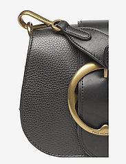 Polo Ralph Lauren - Pebbled Leather Lennox Bag - olkalaukut - black - 4