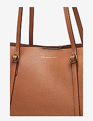 Polo Ralph Lauren - Leather Large Lennox Tote - fashion shoppers - saddle - 5