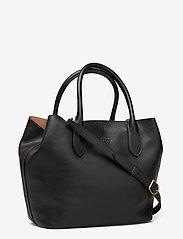 Polo Ralph Lauren - Leather Medium Bellport Tote - shoppers - black - 2