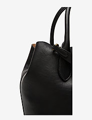 Polo Ralph Lauren - Leather Medium Bellport Tote - shoppers - black - 4