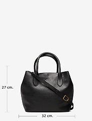 Polo Ralph Lauren - Leather Medium Bellport Tote - shoppers - black - 6