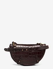 Polo Ralph Lauren - CROC EMBOSSED LTHR-CONV BELTBAG-CXB - olkalaukut - chocolate - 2
