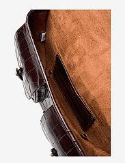 Polo Ralph Lauren - CROC EMBOSSED LTHR-CONV BELTBAG-CXB - olkalaukut - chocolate - 5