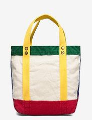 Polo Ralph Lauren - Color-Blocked Canvas Tote - shoppers - multi - 2