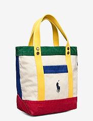 Polo Ralph Lauren - Color-Blocked Canvas Tote - shoppers - multi - 3