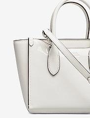 Polo Ralph Lauren - Leather Mini Sloane Satchel - shoulder bags - white - 3