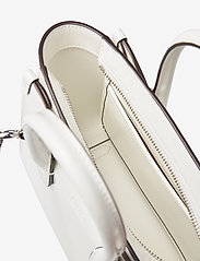 Polo Ralph Lauren - Leather Mini Sloane Satchel - shoulder bags - white - 4