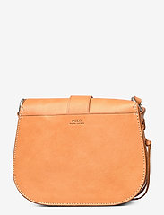 Polo Ralph Lauren - Leather-Inlay Small Crossbody - shoulder bags - natural - 2