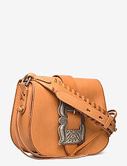 Polo Ralph Lauren - Leather-Inlay Small Crossbody - shoulder bags - natural - 3