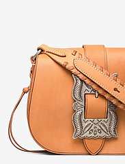 Polo Ralph Lauren - Leather-Inlay Small Crossbody - shoulder bags - natural - 4