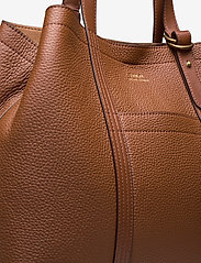 Polo Ralph Lauren - Pebbled Leather Medium Tote - shoppers - cuoio - 3