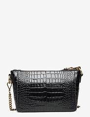 Polo Ralph Lauren - CROC EMBOSSED LTHR-SLOANE XBDY-CXB- - shoulder bags - black - 2