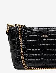 Polo Ralph Lauren - CROC EMBOSSED LTHR-SLOANE XBDY-CXB- - shoulder bags - black - 4