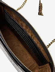 Polo Ralph Lauren - CROC EMBOSSED LTHR-SLOANE XBDY-CXB- - shoulder bags - black - 5