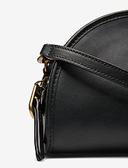 Polo Ralph Lauren - SMOOTH LEATHER-HALF MOON XB-CXB-SMA - shoulder bags - black - 3