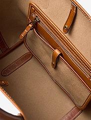 Polo Ralph Lauren - POLO CANVAS-MD OPEN TOTE-TTE-MED - håndtasker - natural - 4