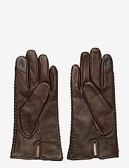 Polo Ralph Lauren - Stitched Sheepskin Gloves - rękawiczki - country brown - 1
