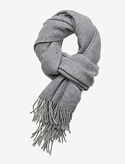 Polo Ralph Lauren - Wool-Blend Oversize Scarf - scarves - cream/fawn grey - 0
