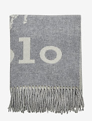 Polo Ralph Lauren - Wool-Blend Oversize Scarf - scarves - cream/fawn grey - 2