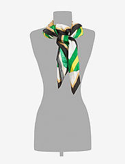 Polo Ralph Lauren - Equestrian Silk Scarf - skjerf - white multi - 1