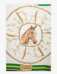 Polo Ralph Lauren - Equestrian Silk Scarf - skjerf - white multi - 3