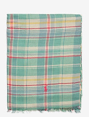 Polo Ralph Lauren - Plaid Cotton-Blend Scarf - tørklæder - light blue plaid - 1