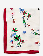 Polo Ralph Lauren - Beaded Silk Scarf - tørklæder - white multi - 1
