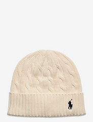 Cable-Knit Cotton Beanie - CLUBHOUSE CREAM