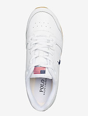 Polo Ralph Lauren - Classic Runner Leather Sneaker - low top sneakers - white - 3