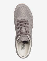Polo Ralph Lauren - Classic Runner Suede & Mesh Sneaker - low top sneakers - grey - 3