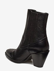Polo Ralph Lauren - Lowrey Leather Cowboy Boot - heeled ankle boots - black - 2