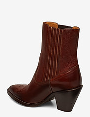 Polo Ralph Lauren - Lowrey Leather Cowboy Boot - heeled ankle boots - dark cognac - 2