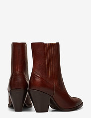 Polo Ralph Lauren - Lowrey Leather Cowboy Boot - heeled ankle boots - dark cognac - 4