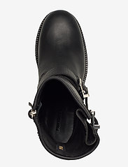 Polo Ralph Lauren - Payge Vachetta Leather Boot - heeled ankle boots - black - 3
