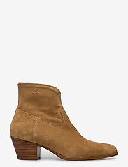 Polo Ralph Lauren - Lucille Leather Boot - heeled ankle boots - caramel - 1
