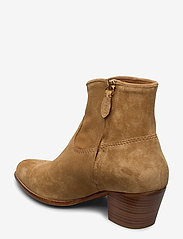 Polo Ralph Lauren - Lucille Leather Boot - heeled ankle boots - caramel - 2