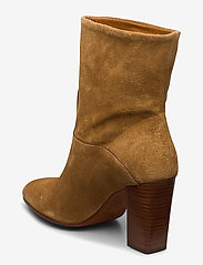 Polo Ralph Lauren - Brindley Suede Boot - heeled ankle boots - tan - 2