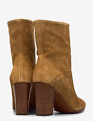 Polo Ralph Lauren - Brindley Suede Boot - heeled ankle boots - tan - 4