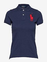 Polo Ralph Lauren - Skinny-Fit Big Pony Polo Shirt - polo shirts - newport navy - 1