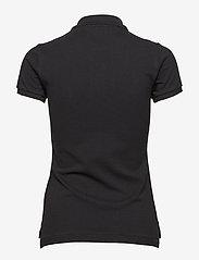 Polo Ralph Lauren - Skinny-Fit Big Pony Polo Shirt - polo shirts - polo black - 1