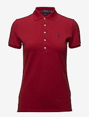 Polo Ralph Lauren - Slim Fit Polo Shirt - polo shirts - rl2000 red/navy p - 1