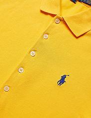 Polo Ralph Lauren - Slim Fit Polo Shirt - poloskjorter - yellowfin - 3