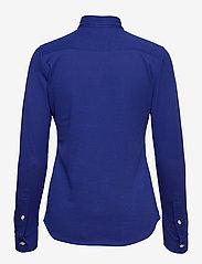 Polo Ralph Lauren - Knit Cotton Oxford Shirt - langærmede skjorter - sporting royal - 2